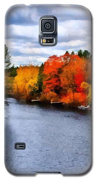 Autumn Channel Galaxy S5 Case