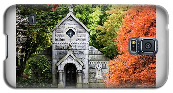 Autumn Chapel Galaxy S5 Case by Betty Denise
