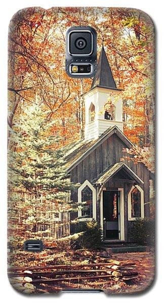 Autumn Chapel Galaxy S5 Case by Joel Witmeyer