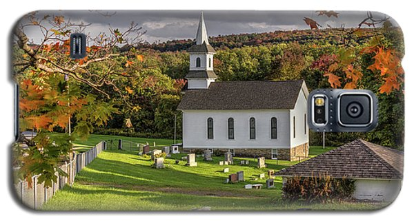 Autumn Church Galaxy S5 Case