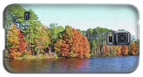 Autumn Color At Ratcliffe Lake Galaxy S5 Case