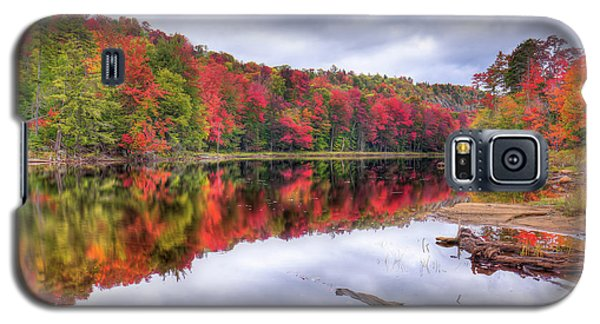 Galaxy S5 Case featuring the photograph Autumn Color At The Pond by David Patterson