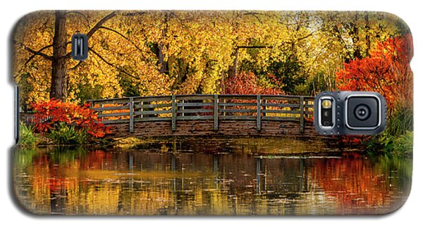 Autumn Color By The Pond Galaxy S5 Case
