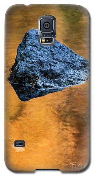 Galaxy S5 Case featuring the photograph Autumn Color On Little River - D009990 by Daniel Dempster