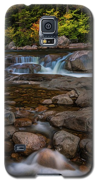 Galaxy S5 Case featuring the photograph Autumn Colors In White Mountains New Hampshire by Ranjay Mitra