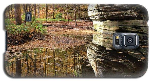 Autumn Comes  To Illinois Canyon  Galaxy S5 Case