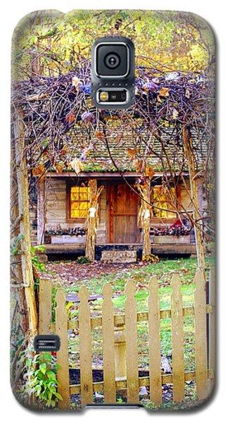 Autumn Cottage Galaxy S5 Case