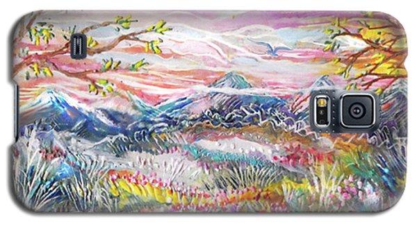 Autumn Country Mountains Galaxy S5 Case