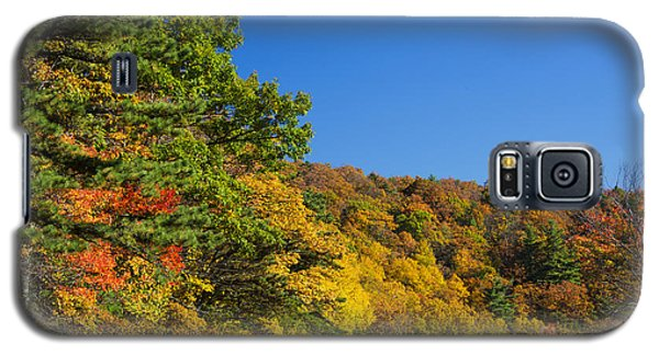 Autumn Country Roads Blue Ridge Parkway Galaxy S5 Case
