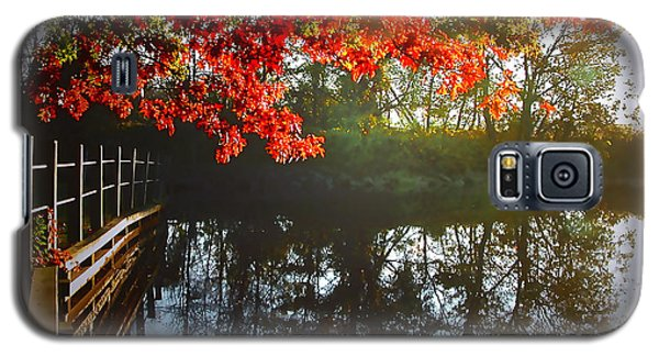 Autumn Creek Magic Galaxy S5 Case
