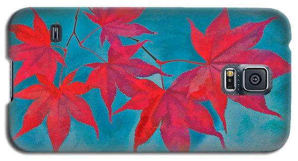 Autumn Crimson Galaxy S5 Case