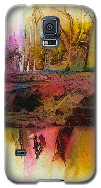 Galaxy S5 Case featuring the painting Autumn Dream by Mary Sullivan