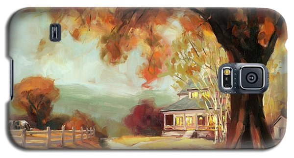 Geese Galaxy S5 Case - Autumn Dreams by Steve Henderson