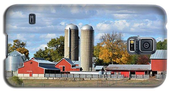 Autumn Elk Farm Galaxy S5 Case by Bonfire Photography