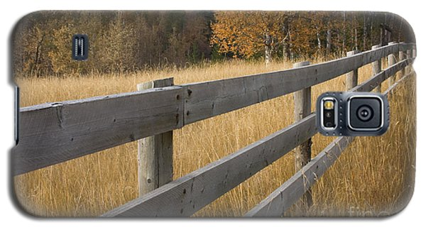 Autumn Fence Galaxy S5 Case