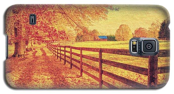 Autumn Fences Galaxy S5 Case
