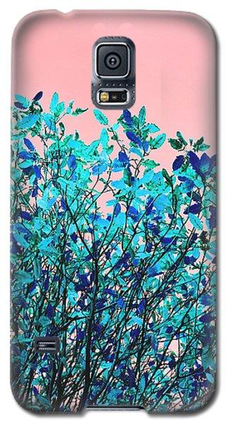 Autumn Flames - Peach Galaxy S5 Case by Rebecca Harman