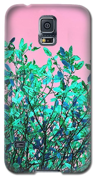 Autumn Flames - Pink Galaxy S5 Case