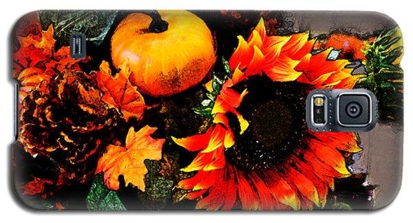 Autumn Flowers Galaxy S5 Case