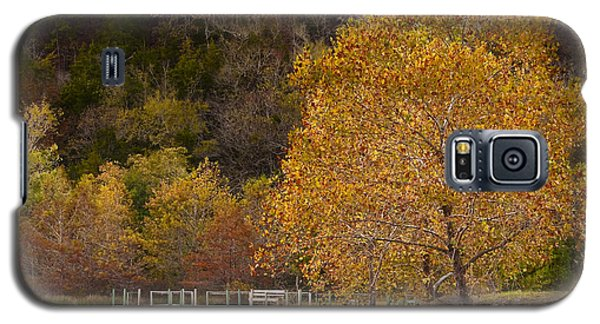 Galaxy S5 Case featuring the photograph Autumn Glory In Beaver's Bend by Tamyra Ayles