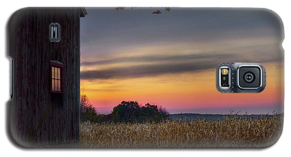 Galaxy S5 Case featuring the photograph Autumn Glow by Bill Wakeley
