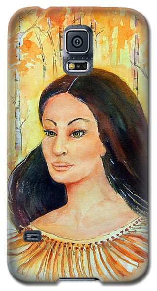 Autumn Goddess Galaxy S5 Case