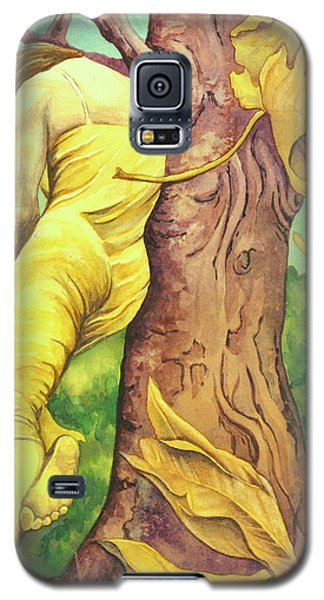 Galaxy S5 Case featuring the painting Autumn Grace by Sheri Howe