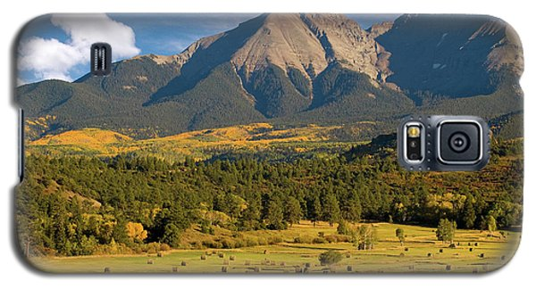 Autumn Hay In The Rockies Galaxy S5 Case by Steve Stuller