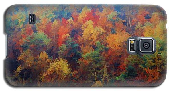 Autumn Hill Aglow Galaxy S5 Case by Diane Alexander