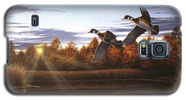 Autumn Home - Wood Ducks Galaxy S5 Case