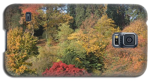 Galaxy S5 Case featuring the photograph Autumn In Baden Baden by Travel Pics