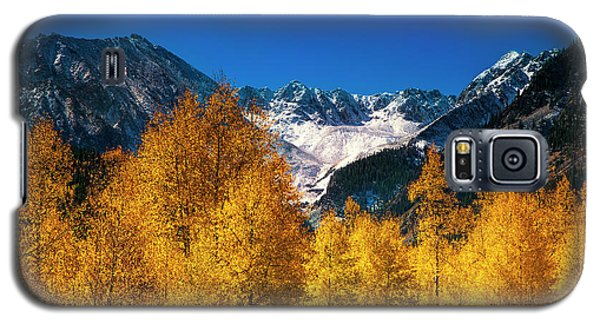 Galaxy S5 Case featuring the photograph Autumn In Colorado by Andrew Soundarajan