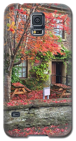 Galaxy S5 Case featuring the photograph Autumn In Dunblane by RKAB Works