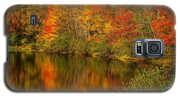 Autumn In Monroe Galaxy S5 Case by Karol Livote