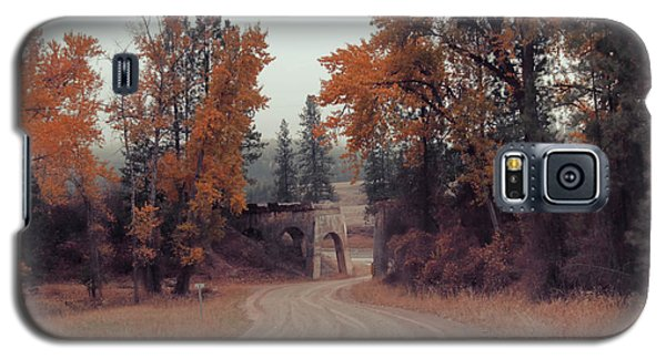 Autumn In Montana Galaxy S5 Case by Cathy Anderson