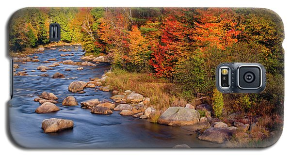 Autumn In New Hampshire Galaxy S5 Case by Betty Denise