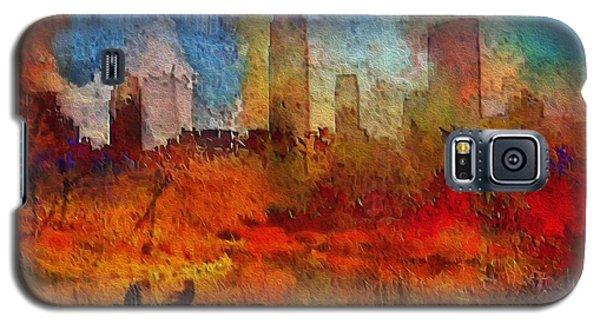 Autumn In New York Galaxy S5 Case by Ted Azriel