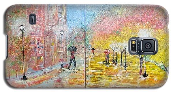 Autumn In Paris Galaxy S5 Case