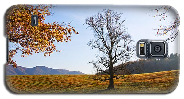 Galaxy S5 Case featuring the photograph Autumn In The Cove by Bob Decker