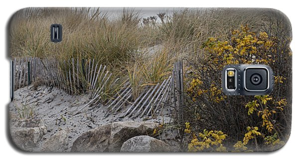Galaxy S5 Case featuring the photograph Autumn In The Dunes by Andrew Pacheco