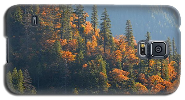 Autumn In The Feather River Canyon Galaxy S5 Case by AJ Schibig