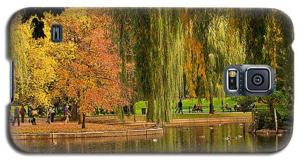 Autumn In The Garden Galaxy S5 Case