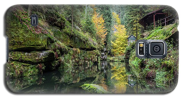 Autumn In The Kamnitz Gorge Galaxy S5 Case