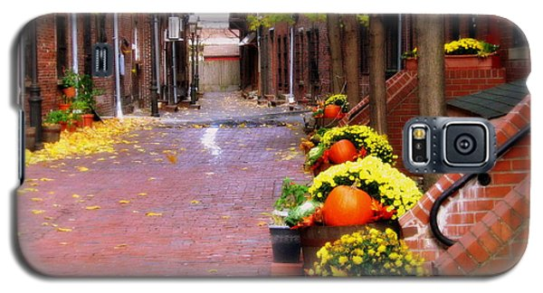 Autumn In The North End Galaxy S5 Case
