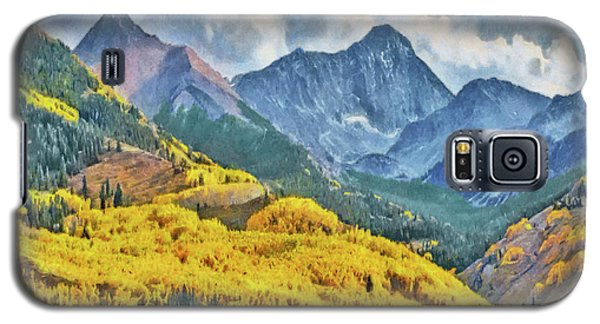Autumn In The Rockies Galaxy S5 Case