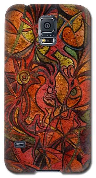 Autumn Kokopelli Galaxy S5 Case