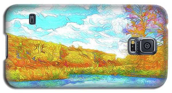 Autumn Lake Reflections - Park In Boulder County Colorado Galaxy S5 Case by Joel Bruce Wallach