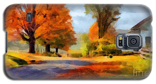 Autumn Landscape Galaxy S5 Case by Sergey Lukashin