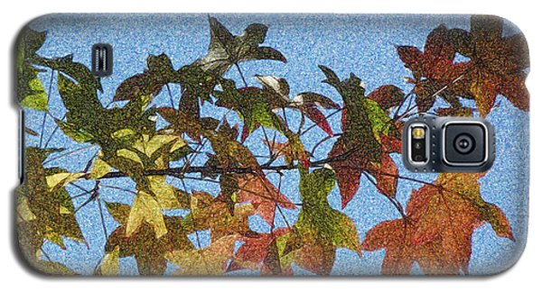 Galaxy S5 Case featuring the photograph Autumn Leaves 3 by Jean Bernard Roussilhe