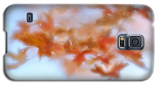 Autumn Maple Leaves Soft Galaxy S5 Case